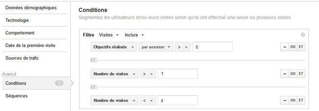 visiteurs google analytics