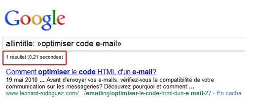 Google allintitle