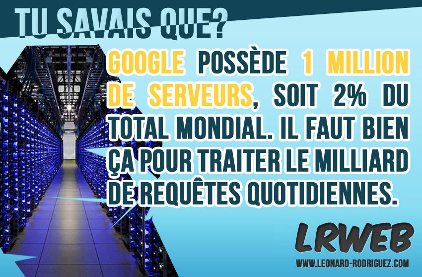 Les serveurs de Google