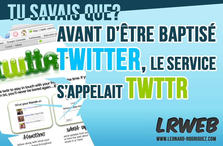 Twitter ou TWTTR?