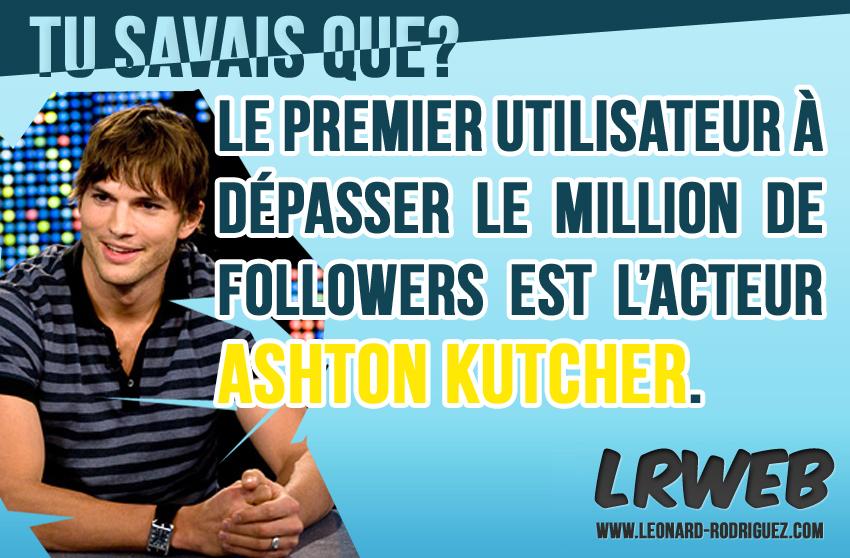 Ashton Kutcher et Twitter