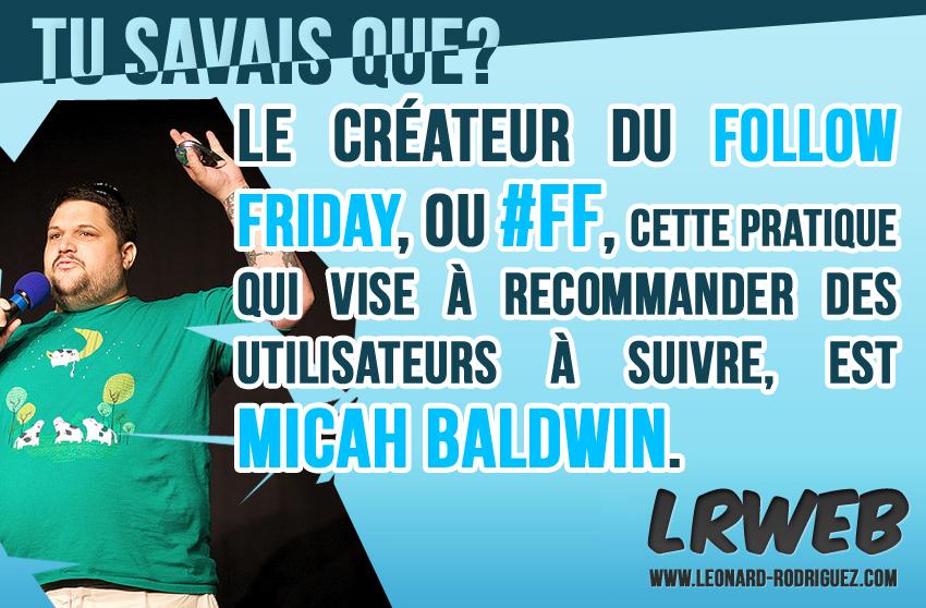 Micah Baldwin et le #FF