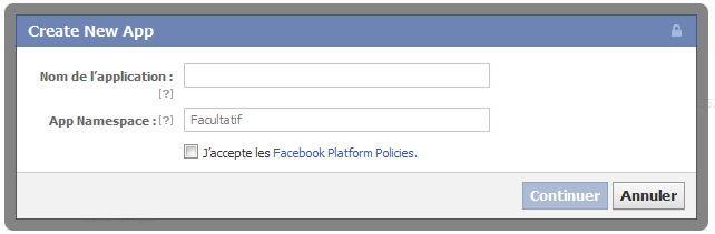 creer nouvel onglet facebook