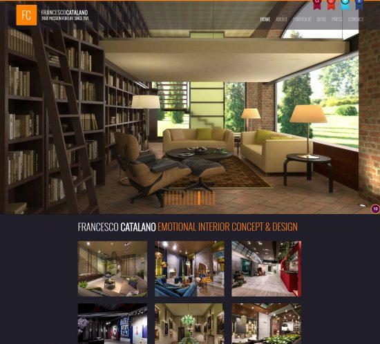 Francesco Catalano Website