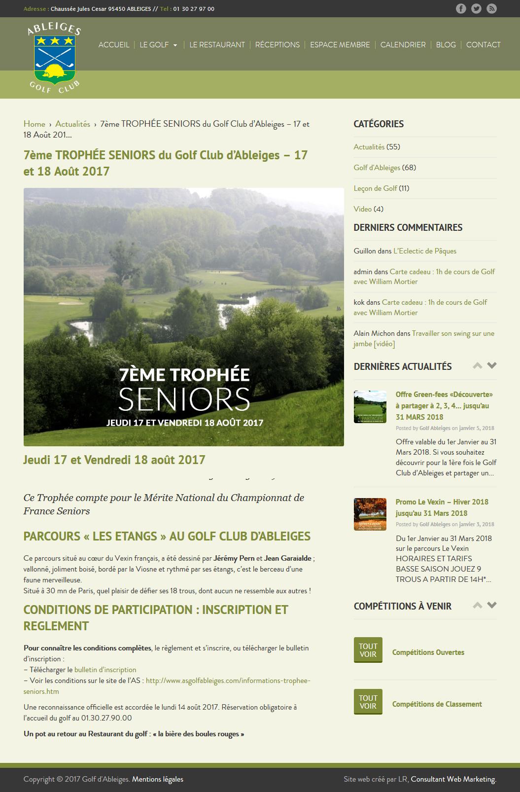 golf d'ableiges blog
