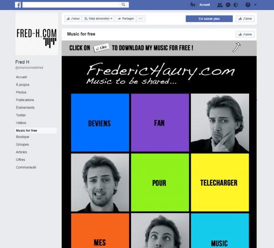 Frédéric Haury Page Facebook
