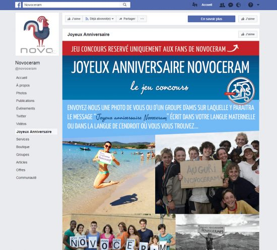 Joyeux anniversaire Novoceram